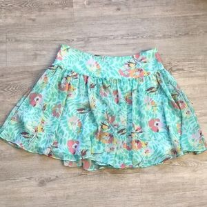 GAP floral skirt 🌸